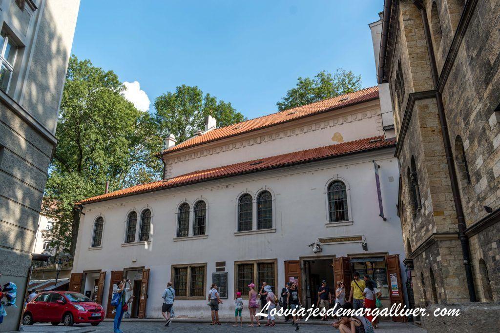 Ruta por las sinagogas de Praga: Sinagoga de Klaus /Klausova synagoga - Los viajes de Margalliver