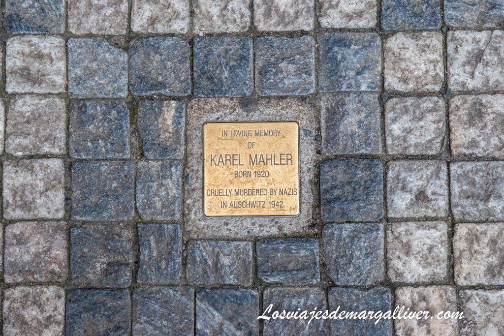 Stolpersteine en Praga - Los viajes de Margalliver