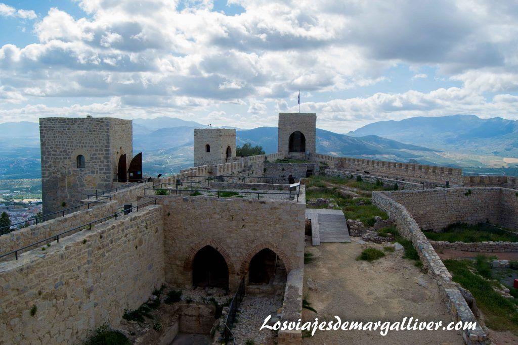 Castillo de Santa Catalina en Jaén, castillos mas bonitos del mundo - Los viajes de Margalliver