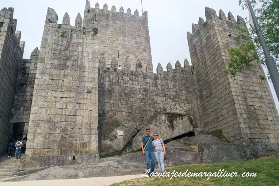 castillo de Guimaraes en Portugal - Los viajes de Margalliver