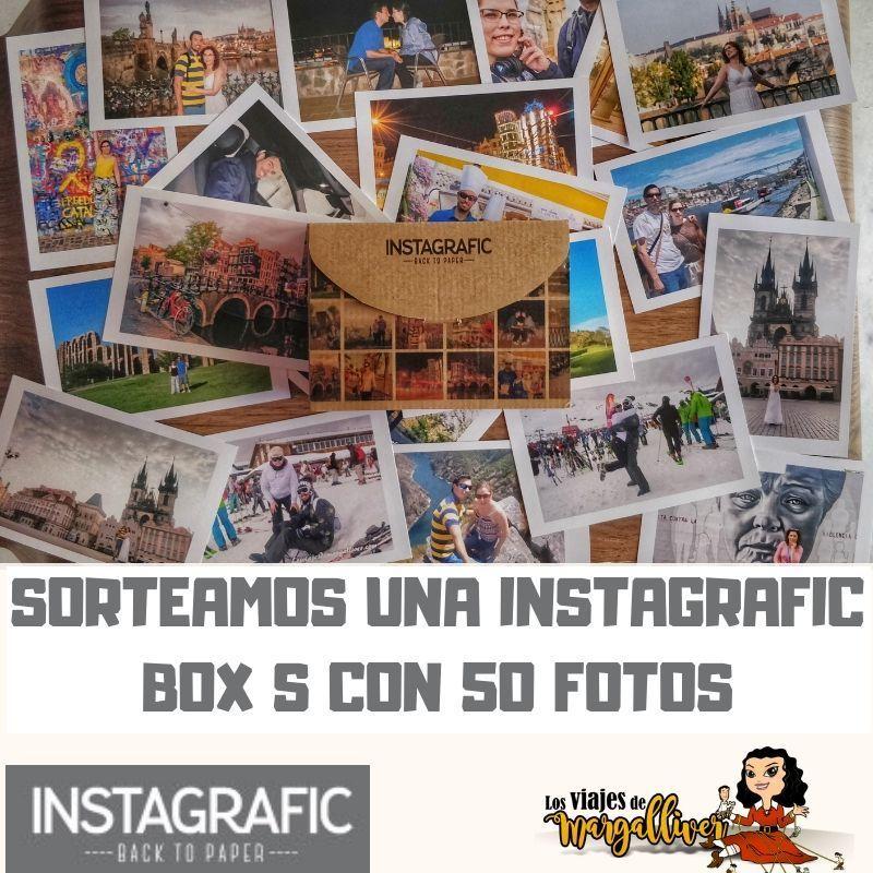 Sorteo Box S de Instagrafic, tercer aniversario - Los viajes de Margalliver