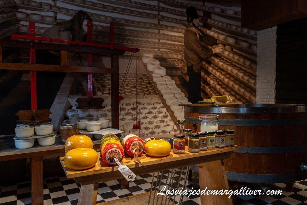 Fábrica de Quesos cerca de Volendam, pueblos cerca de Ámsterdam - Los viajes de Margalliver