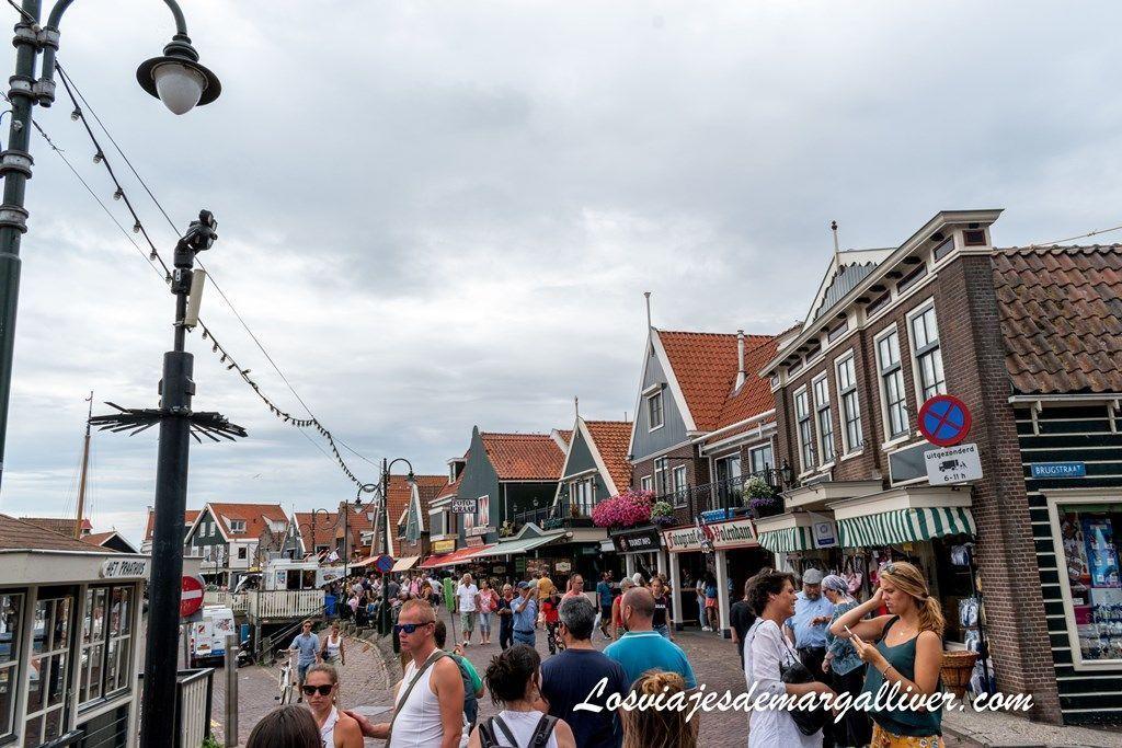Paseo Marítimo de Volendam, pueblos cercanos a Ámsterdam - Los viajes de margalliver