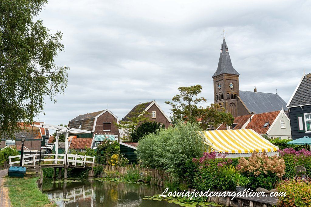 Típica estampa de Marken, pueblos cerca de Ámsterdam - los viajes de Margalliver