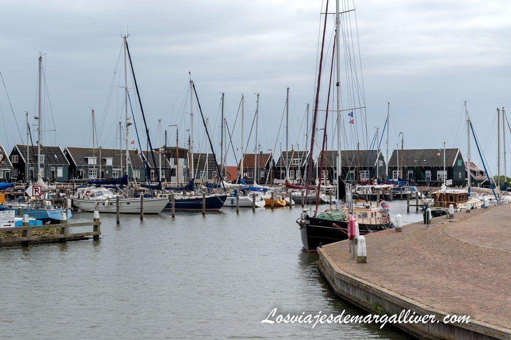 puerto de Marken, pueblos cercanos a Ámsterdam - Los viajes de Margalliver