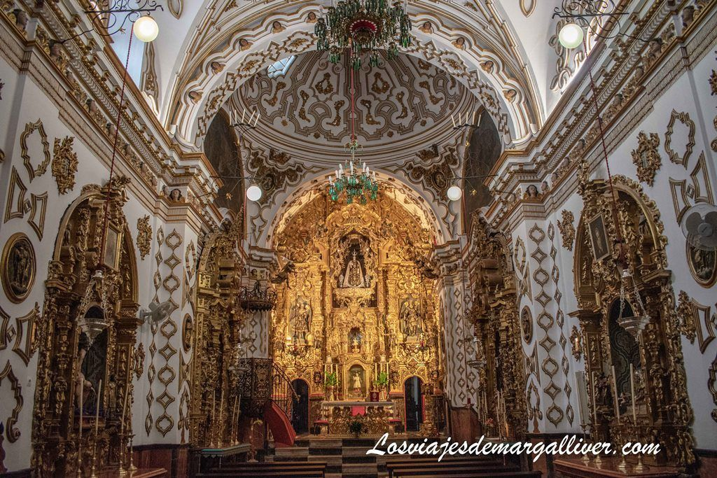 Interior de la Iglesia del Carmen de Estepa - Los viajes de Margalliver