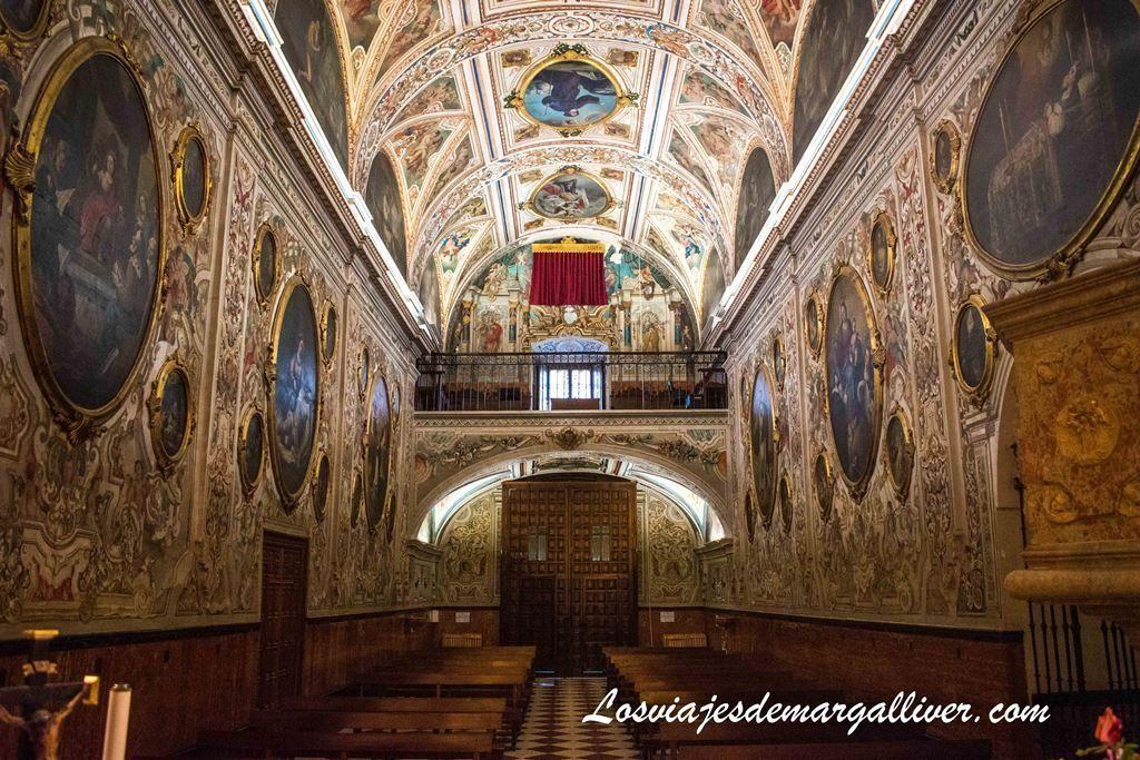 Interior de la Iglesia de Nuestra Señora de la Asunción en Estepa - Los viajes de Margalliver