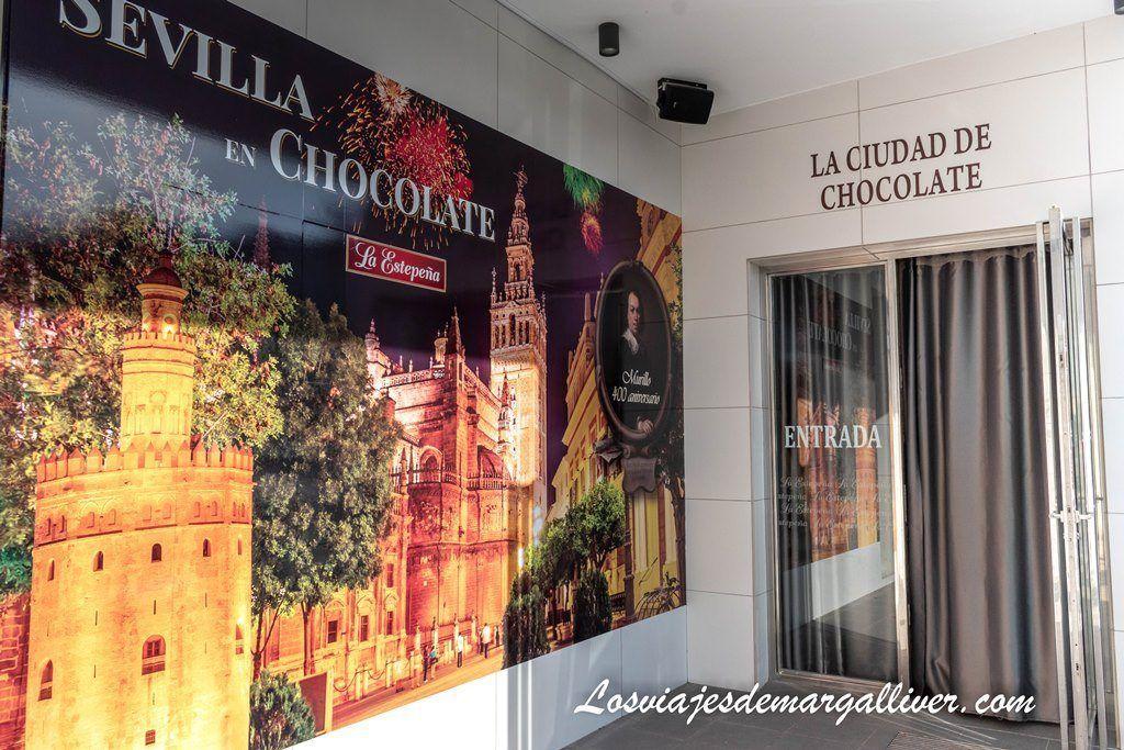 Entrada para ver la Ciudad de Chocolate de la Estepaña, en 2018 está dedicada a Sevilla - Los viajes de Margalliver