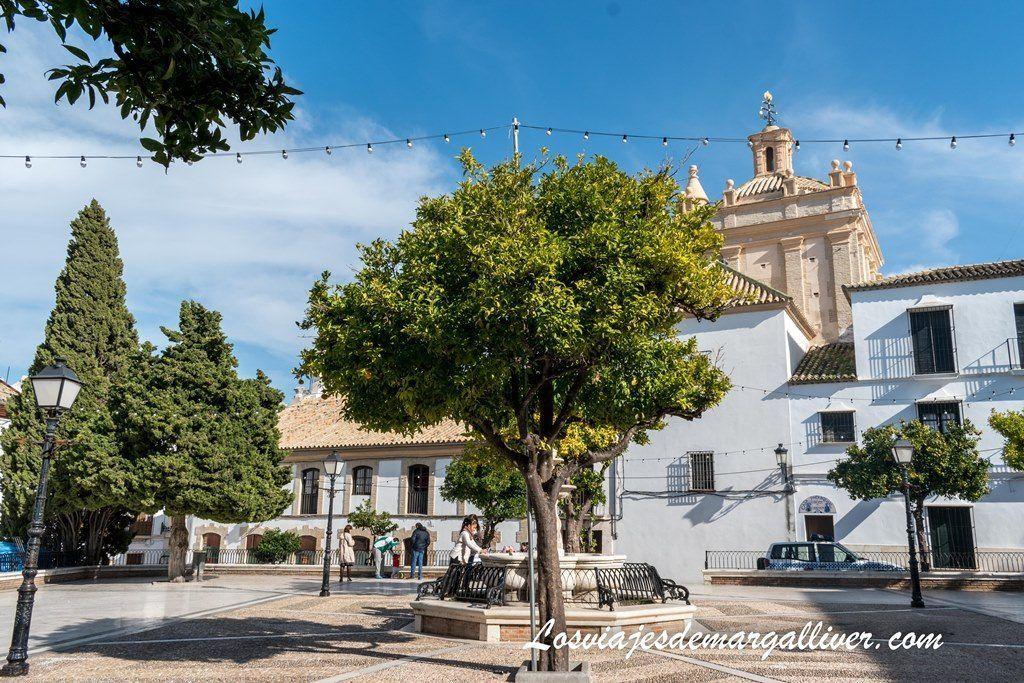 """Plaza del Carmen o también llamad """"El patio"""" , que ver en Estepa en un día - Los viajes de Margalliver"""