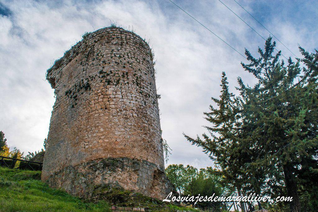 Restos de una torre de la muralla de Estepa - Los viajes de Margalliver