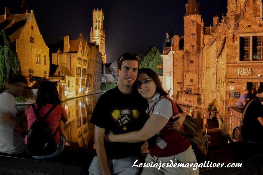rincón romántico de Brujas , ciudades más bonitas de Europa - Los viajes de Margalliver