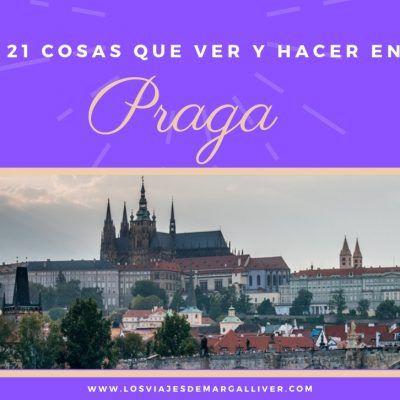 21 cosas que ver y hacer en Praga
