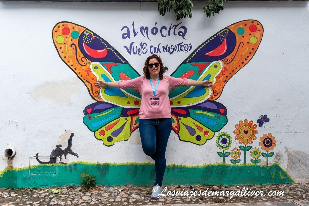 Almócita y sus murales, pueblos de Almería - Los viajes de Margalliver