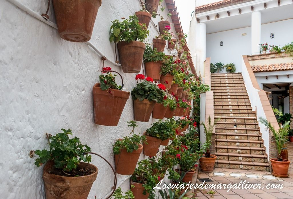 Patio andaluz en Padules, pueblo de Almería - Los viajes de Margalliver