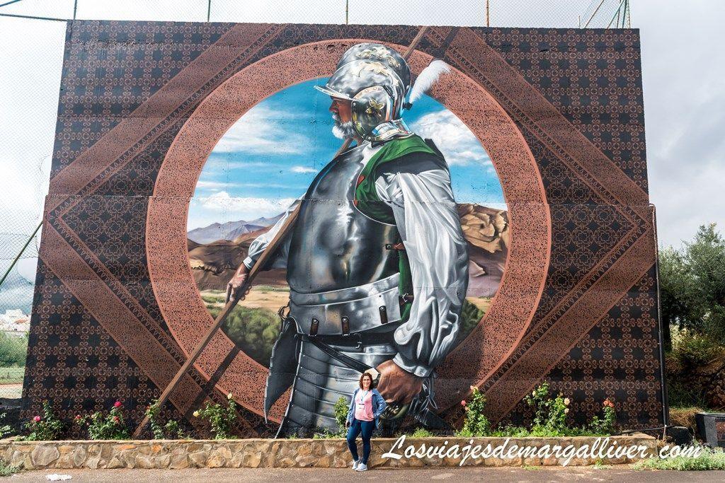 Mural gigante en Padules , ruta por Almería - Los viajes de Margalliver