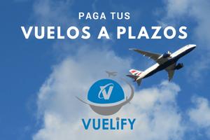 Vuelify, paga tus vuelos a plazos - Los viajes de Margalliver