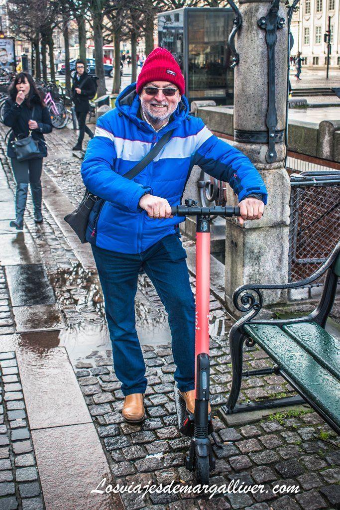 patinetes electricos para alquilar en Copenhague - Los viajes de Margalliver