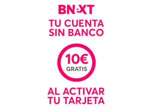 Bnext, tu cuenta sin banco