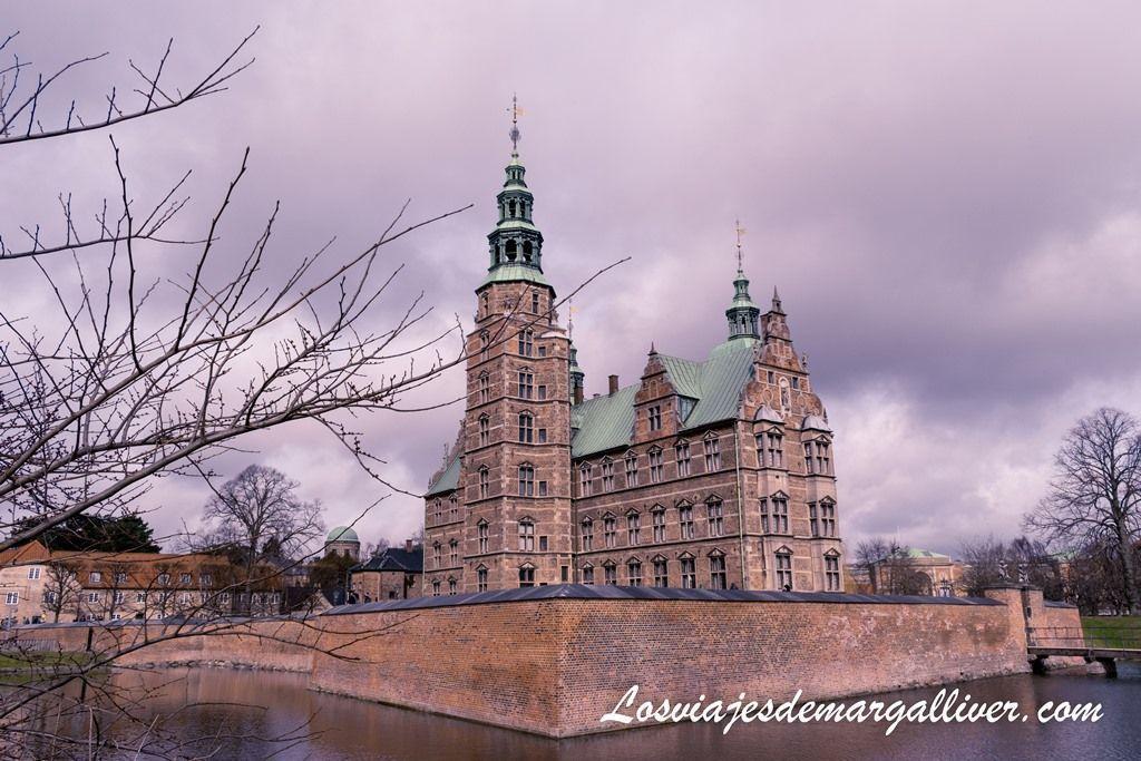 Castillo de Rosenborg en Copenhague - Los viajes de Margalliver