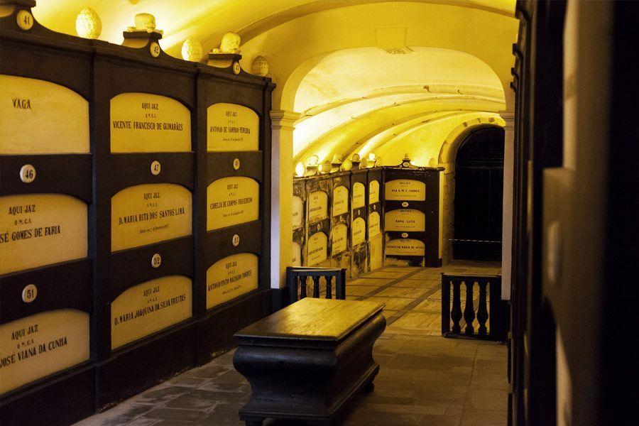 catacumbas Santo Domingo en Oporto, planes diferentes en Oporto - Los viajes de Margalliver