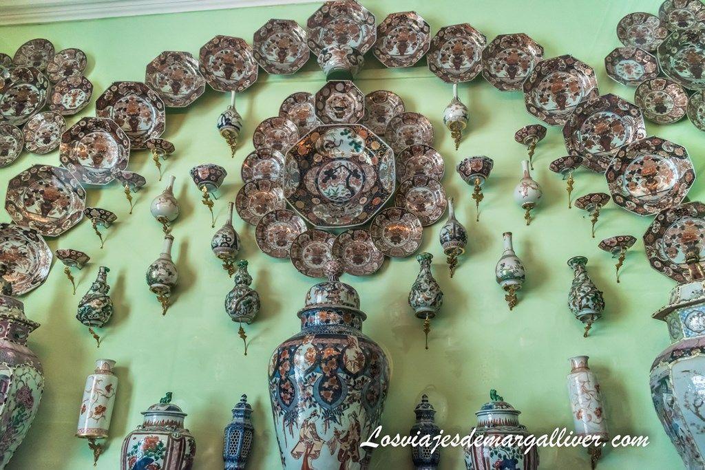 Gabinete de la Porcelana en el Castillo de Rosenborg - Los viajes de Margalliver