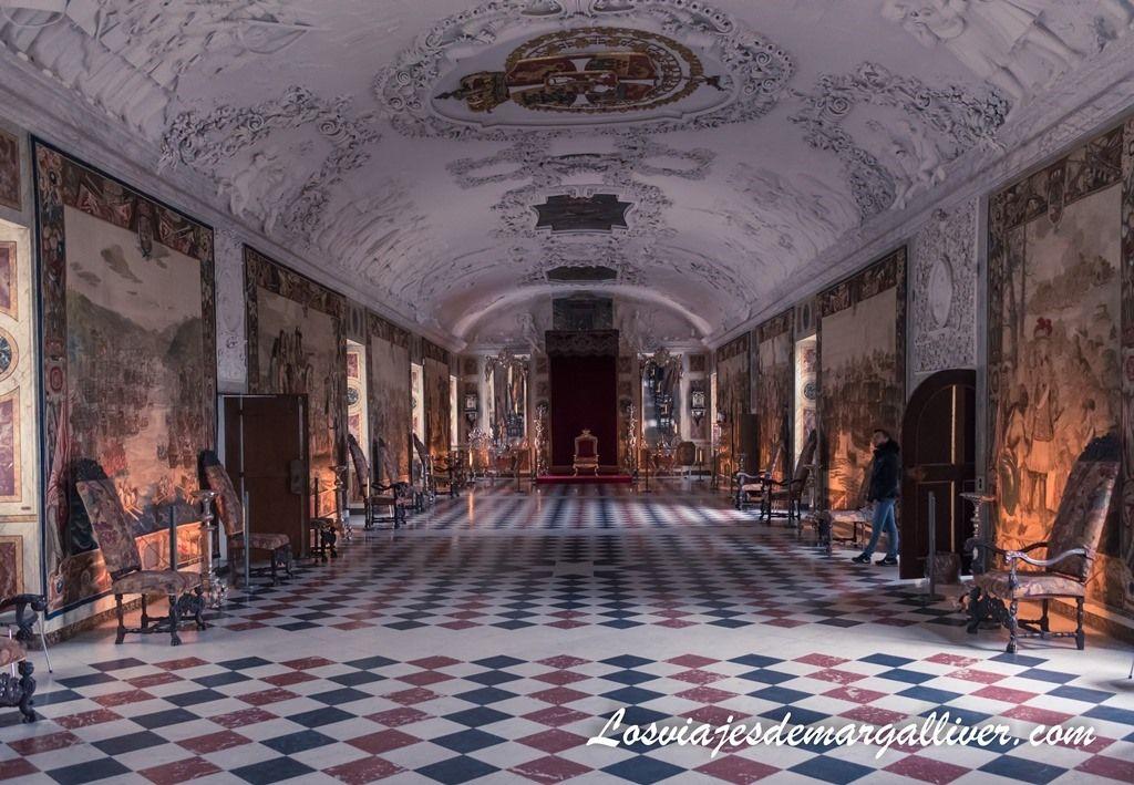 Gran salón del Castillo de Rosenborg en Copenhague - Los viajes de Margalliver