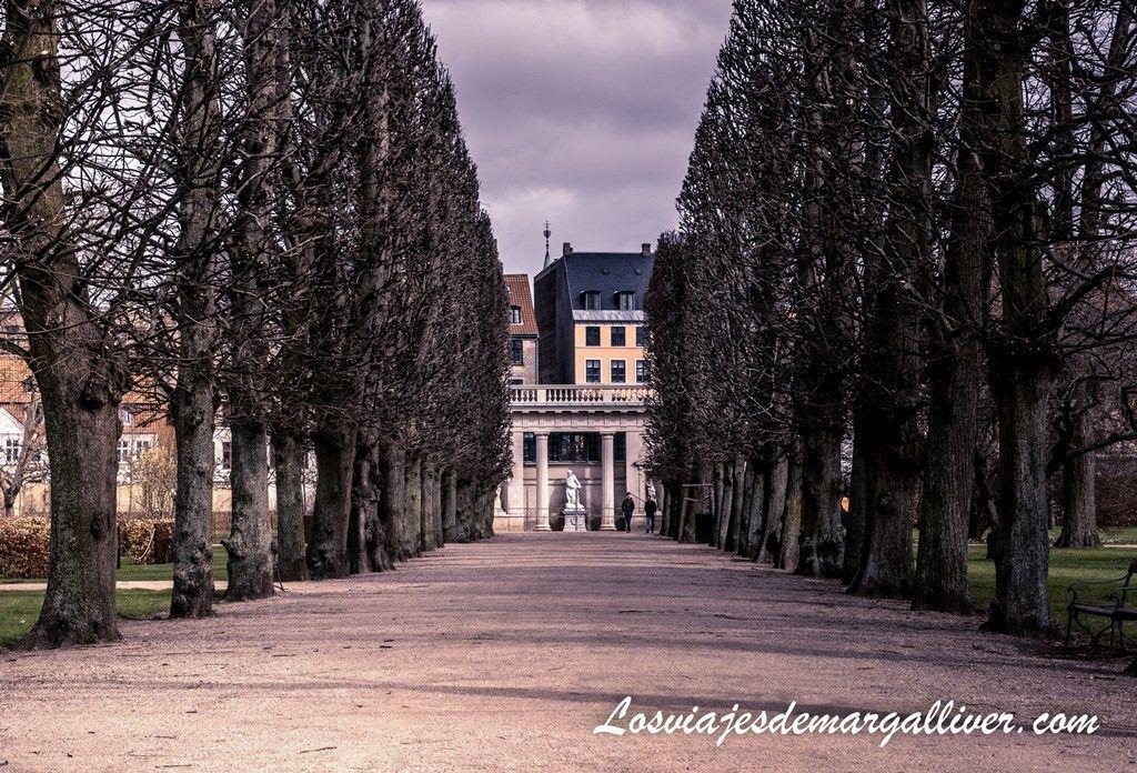 Jardín del Rey, justo al lado del castillo de Rosenborg en Copenhague - Los viajes de Margalliver