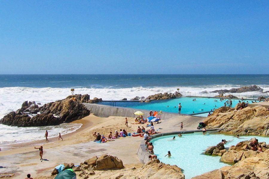 bañarte en rocas en el mar en Oporto, planes alternativos en Oporto - los viajes de Margalliver