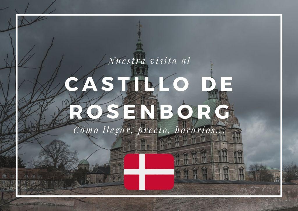 visitar el castillo de Rosenborg en Copenhague - Los viajes de Margalliver