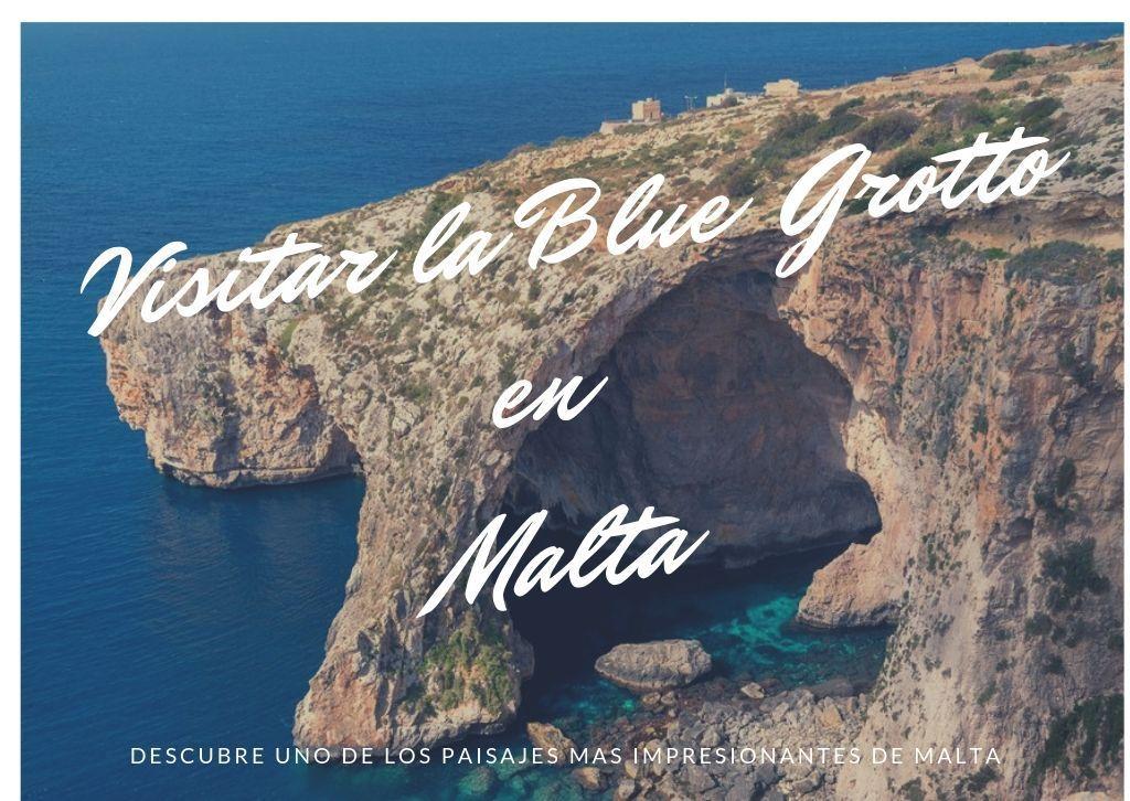 visitar la cueva azul o blue grotto en Malta - Los viajes de margalliver