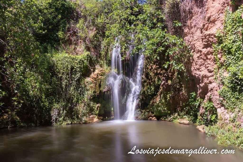Cascada principal del Huéznar, en la sierra norte de Sevilla - Los viajes de Margalliver