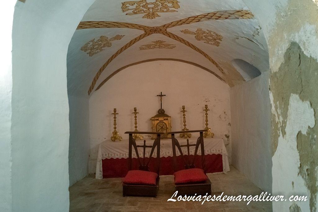 Cripta de la colegiata de la virgen de las nieves, donde quería ser enterrado el conde duque de olivares - Los viajes de Margalliver