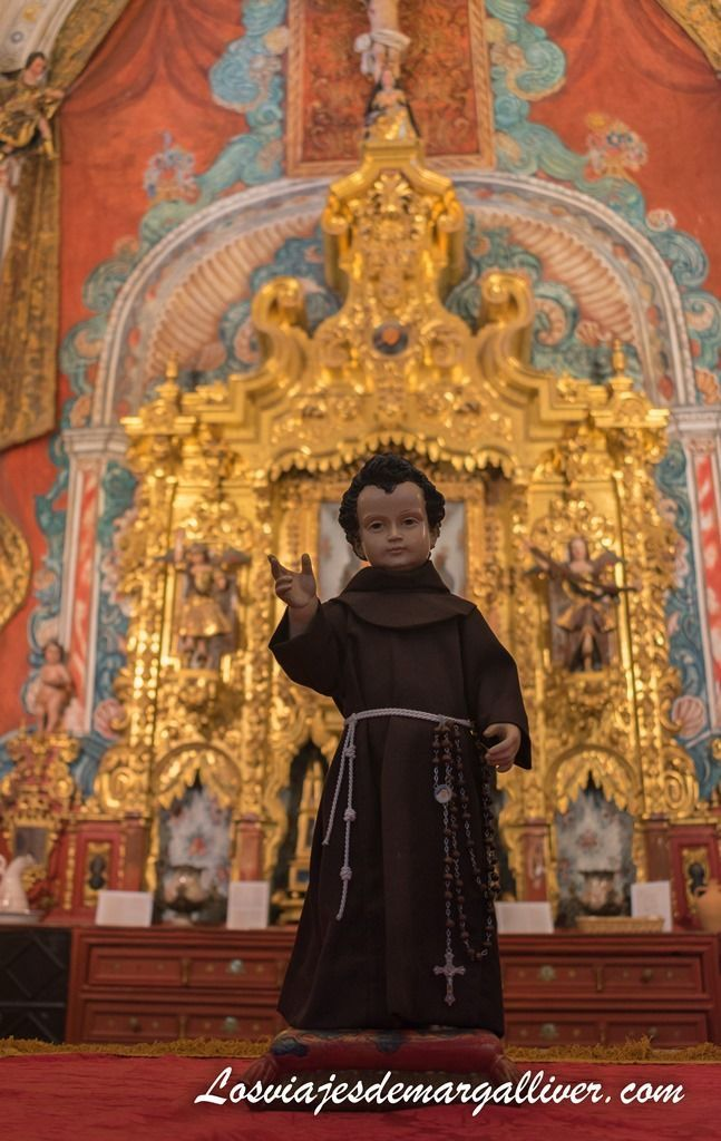 Sacristía y antigua capilla del monasterio de Loreto - Los viajes de Margalliver