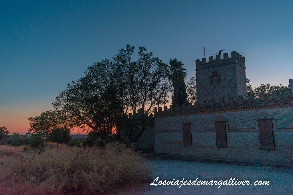 Sunset in Talhara en Benacazón, antigua Castilleja de Talhara - Los Viajes de Margalliver
