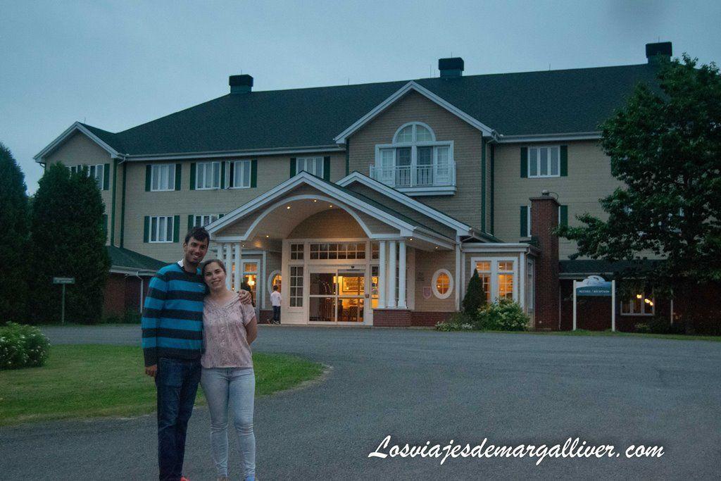 Luna de Miel en Canadá, Hotel Lac-à-l'Eau-Claire - Los viajes de Margalliver