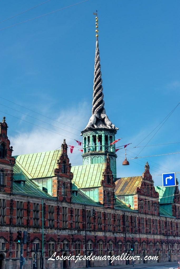 Borsen , el edificio de la bolsa de Copenhague - Los viajes de Margalliver
