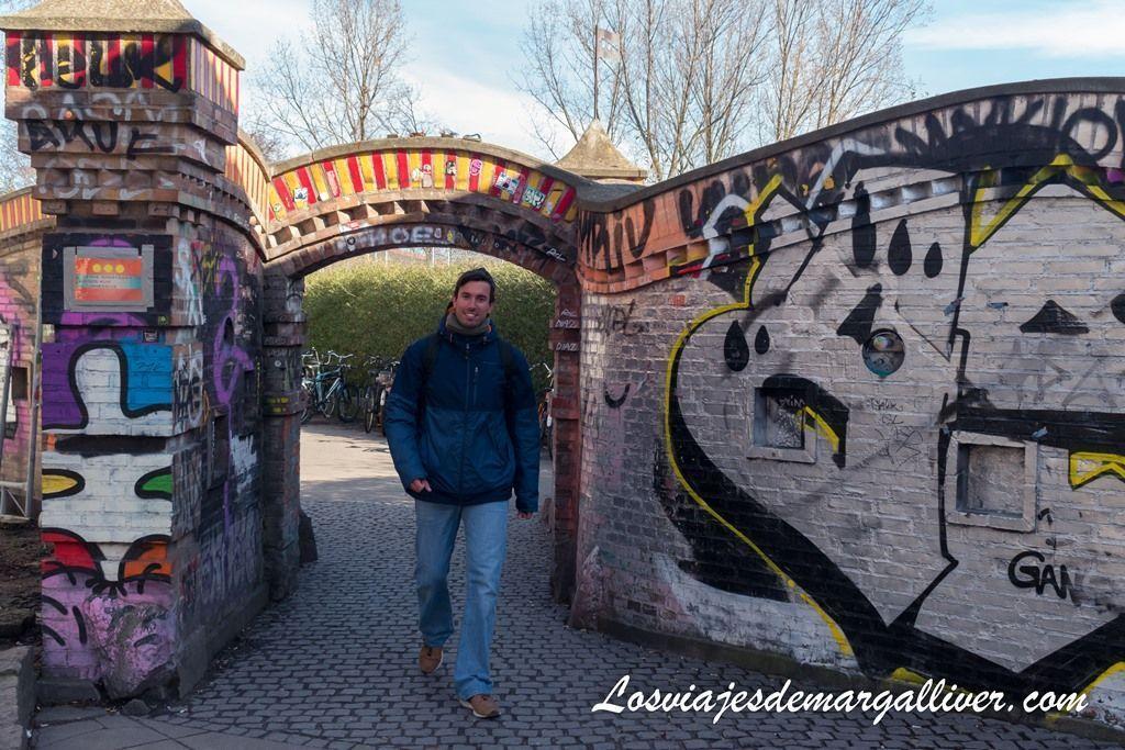 Entrada a Cristiania , la ciudad libre de Copenhague - Los viajes de Margalliver