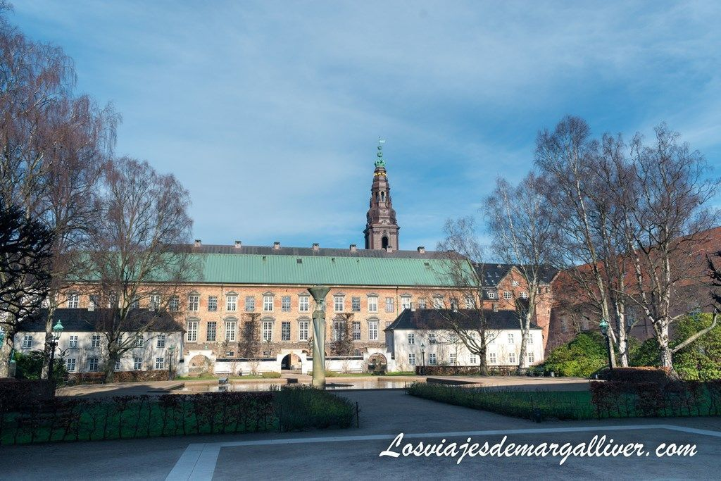 jardín de la biblioteca Real de Copenhague - Los viajes de margalliver