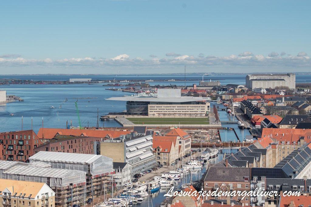 impresionantes vistas desde la torre de la iglesia de San Salvador, Copenhague - Los viajes de Margalliver