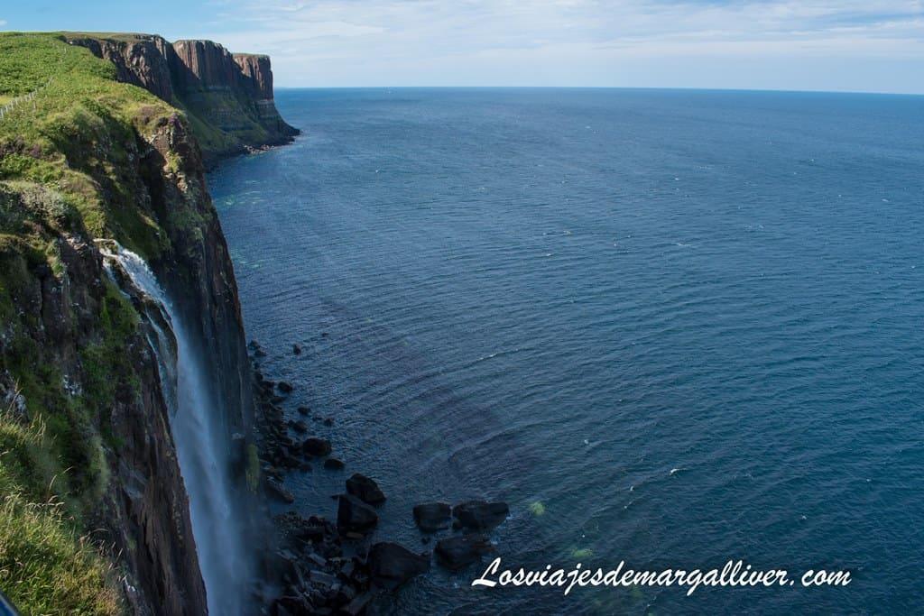 Kilt Rock, visita de un día a la isla de Skye - Los viajes de Margalliver