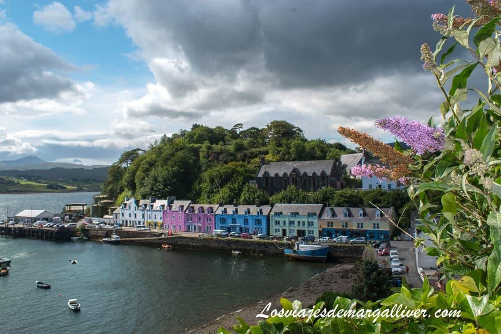 Portree en la isla de Skye en un día - Los viajes de Margalliver