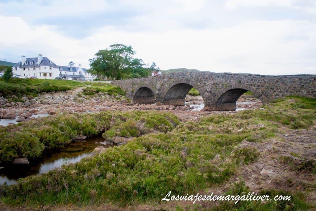 Puente de Sligachan en la isla de Skye en un día - Los viajes de Margalliver