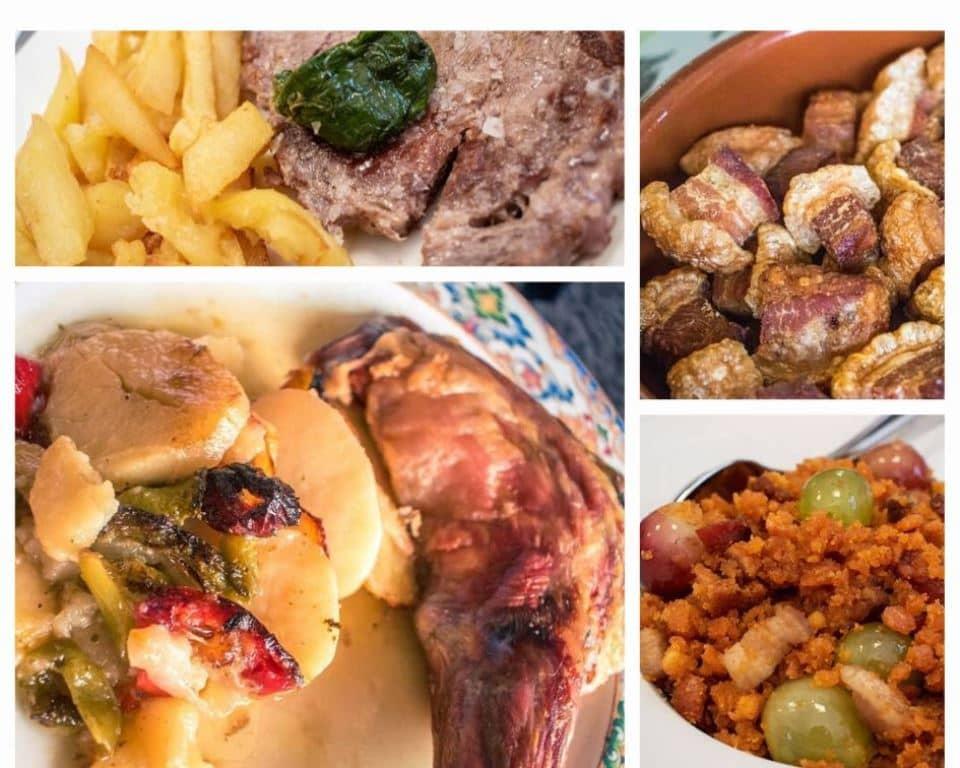 gastronomía de los pueblos negros de Guadalajara - Los viajes de Margalliver