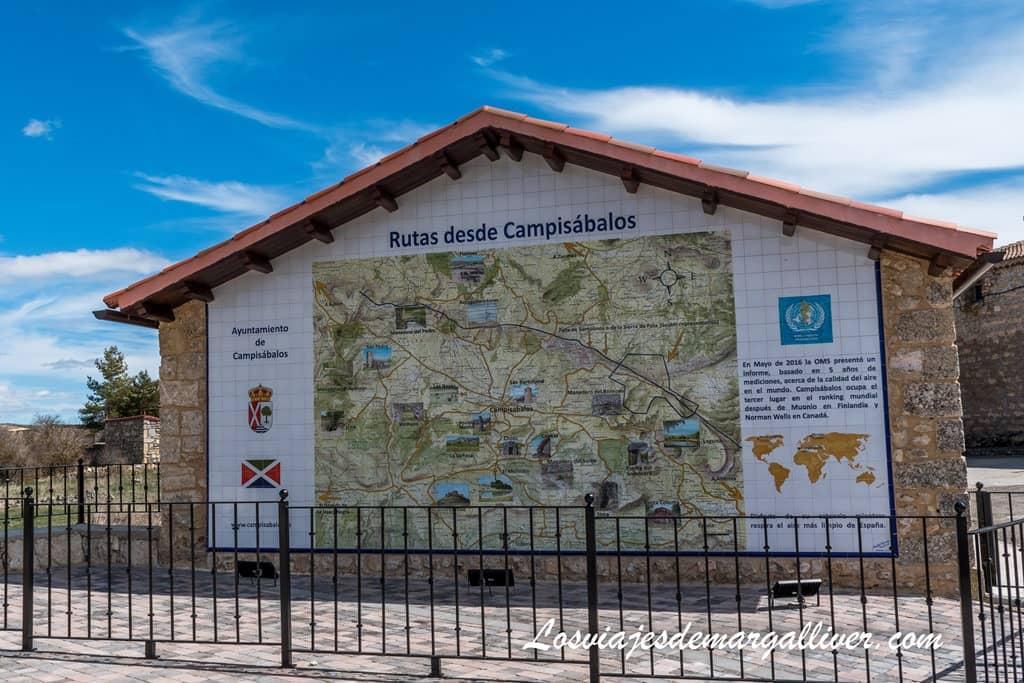 Campisábalos en la ruta de los pueblos negros de Guadalajara - Los viajes de Margalliver