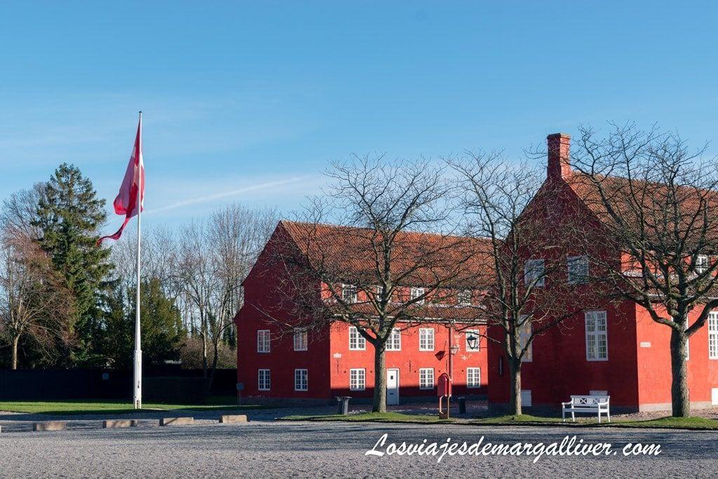 barracones del Kastellet en Copenhague - Los viajes de Margalliver