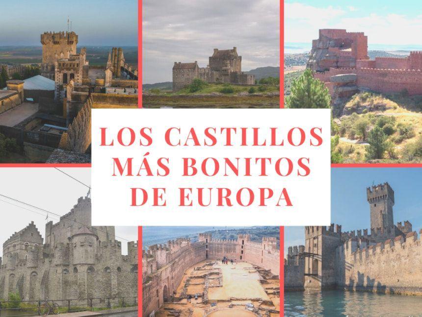 portada de los castillos más bonitos de Europa - Los viajes de Margalliver