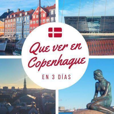 Que ver en Copenhague en 3 días