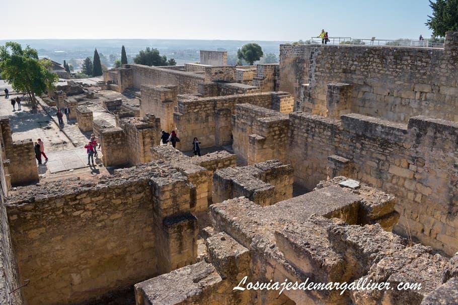 Restos de la ciudad brillante, visitar Medina Azahara - Los viajes de Margalliver
