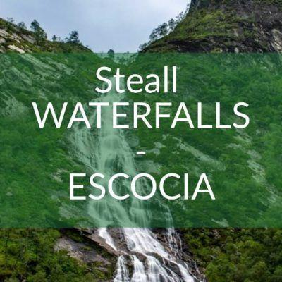 Ruta de senderismo a Steall Waterfall