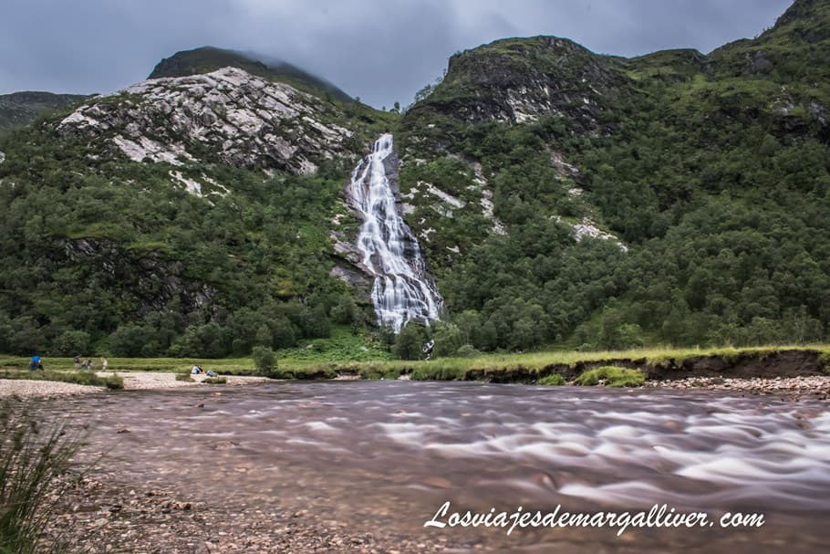 Cataratas Steall Waterfalls en Escocia - Los viajes de Margalliver